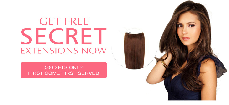 get free secret hair extensions 01