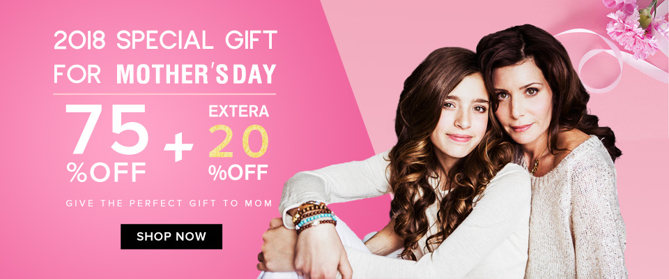 2018 mother's day on sale at market hair extension