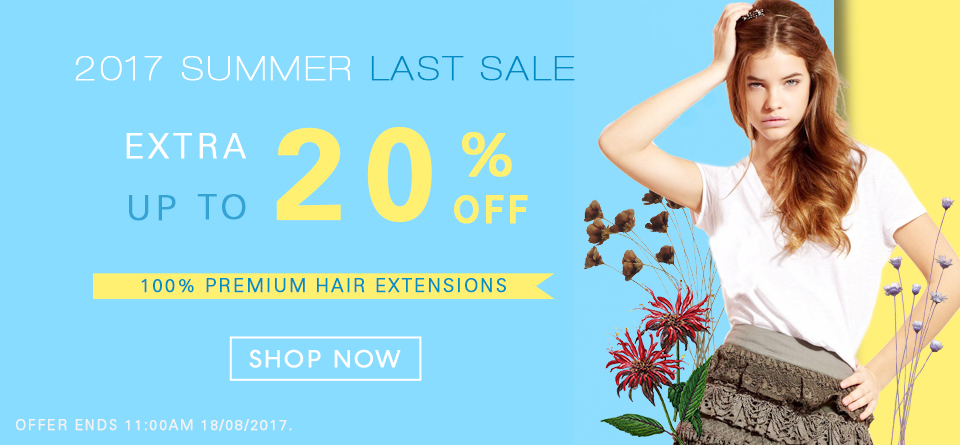2017  Hair Extensions Summer Deals