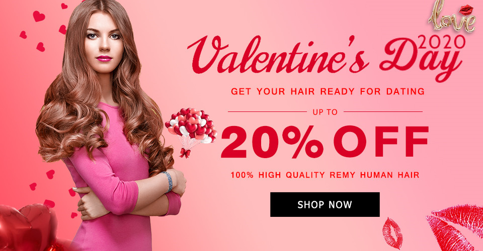 2020 Valentine Day Hair Extensions Sale Australia
