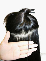 How to Apply Micro Loop Hair Extensions,Step One